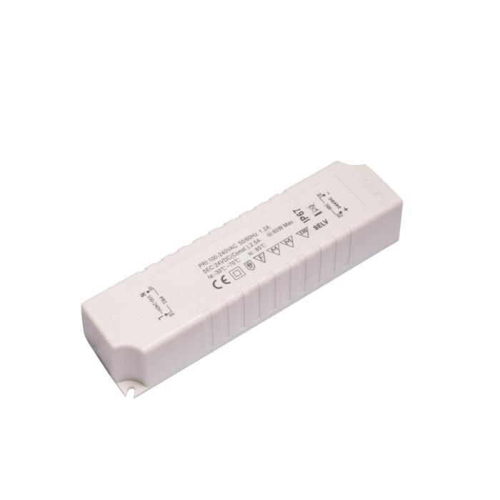 LEDflex IP67 voeding 24V max 60W