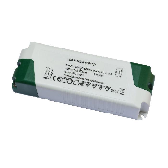 LEDflex voeding 24V max 60W